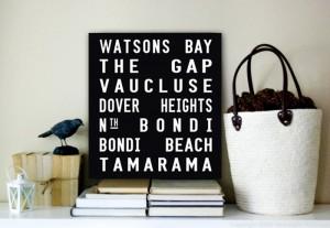 Watsons Bay Square Tram Scroll