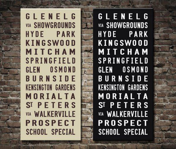Adelaide tram scroll
