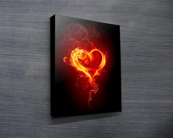 Contemporary Fire artwork