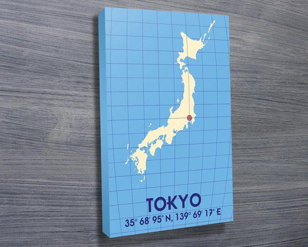 Tokyo Coordinates art