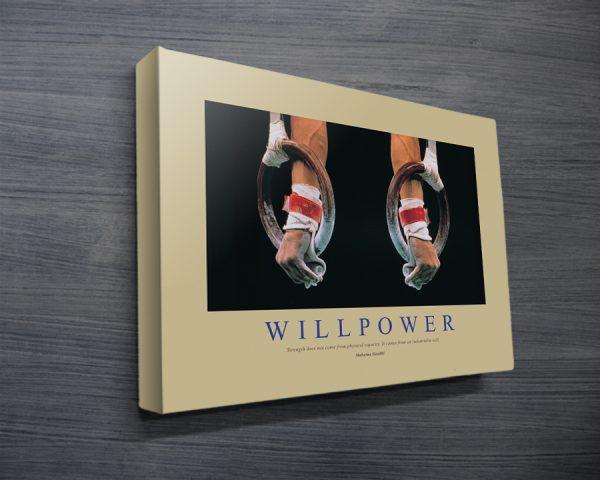 Willpower Motivational Corporate Art
