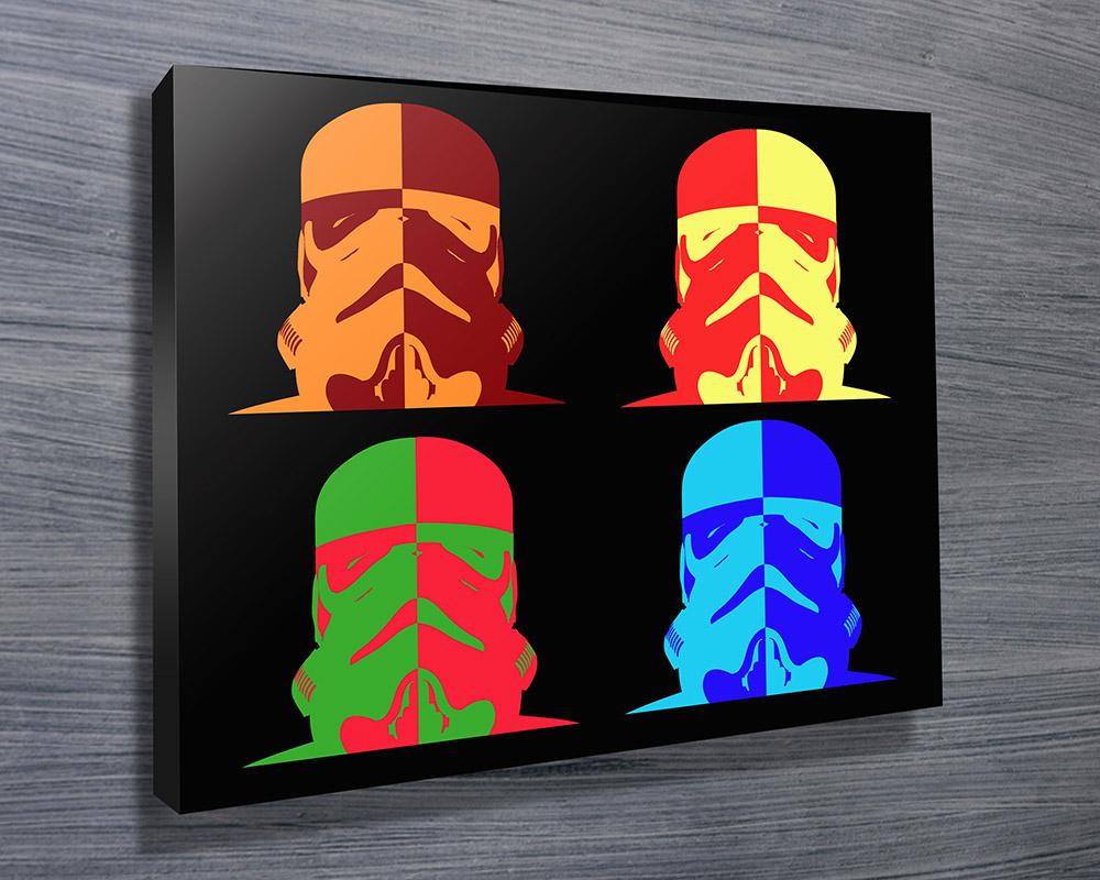 Star wars warhol pop art
