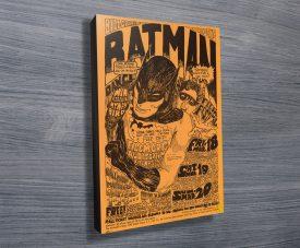 Batman Concert Poster