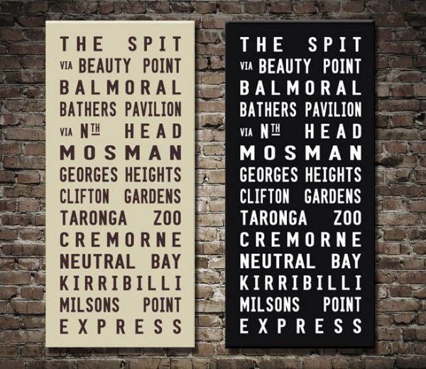 The Spit Tram Scroll