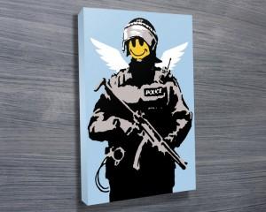 Banksy digital print