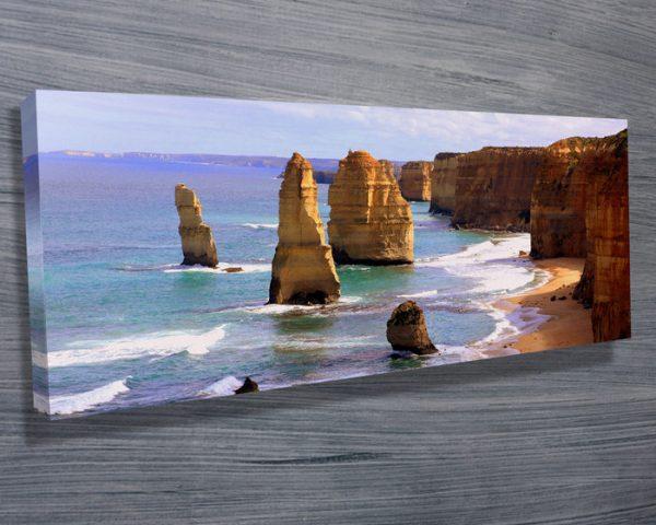 Buy Twelve Apostles Framed Panoramic Artwork