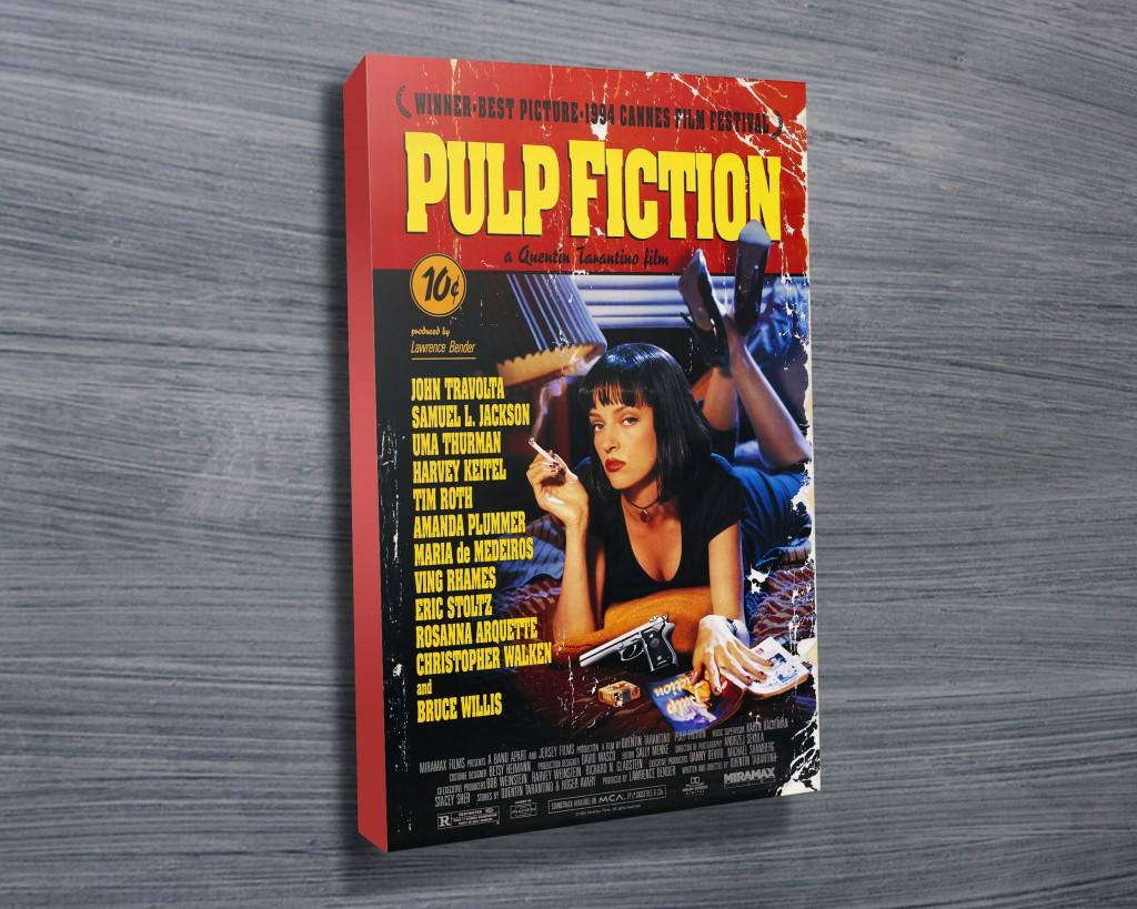 Pulp Fiction Canvas Prints Australia