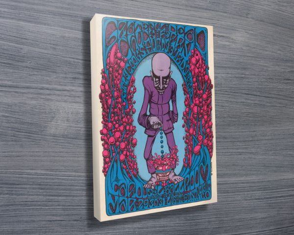 The Berry Dropper Gig Poster