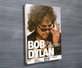 Bob Dylan Concert Gig Poster