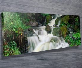 Tumbling Falls Water Fall Panoramic Art