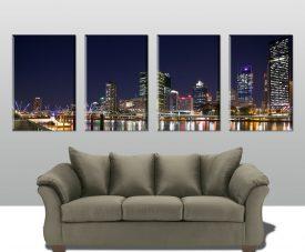 Brisbane 4 Panel Split