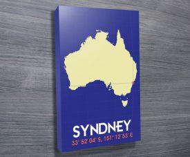 Sydney Coordinates art