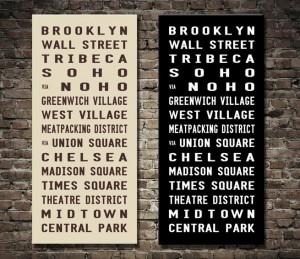 Brooklyn Subway Sign
