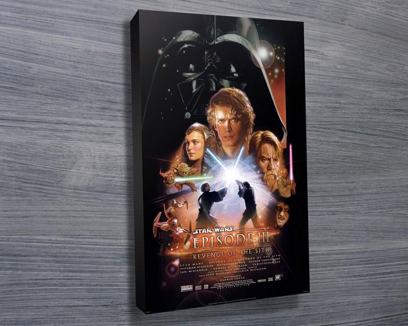 Revenge Of The Sith Canvas Prints Australia