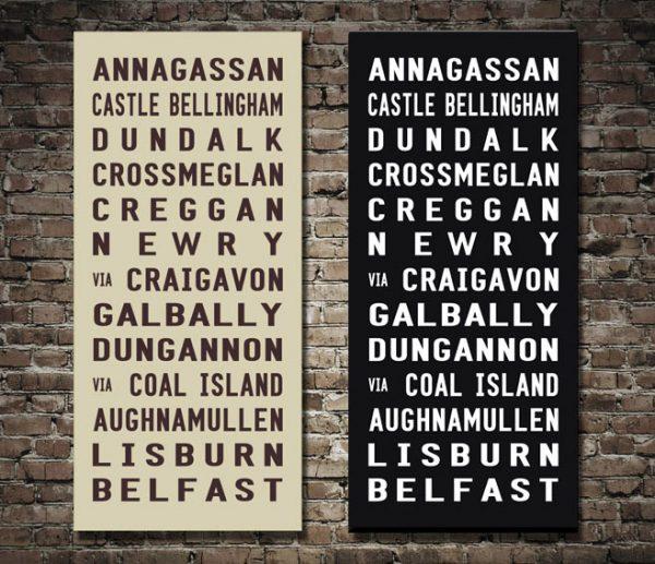 Belfast Bus Scroll