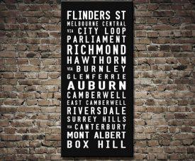 Flinders Street Tram Scroll