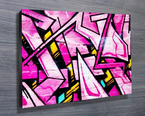 Shades of Pink street art
