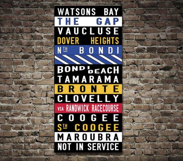 Watsons bay tram scroll