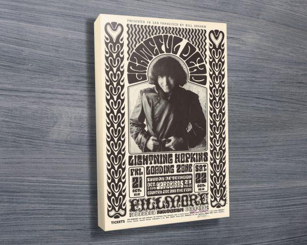 Jerry Garcia Concert Poster