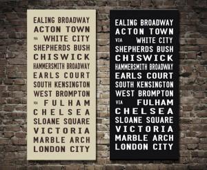 London Bus scroll