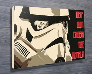 Stormtroopers Helmet Art