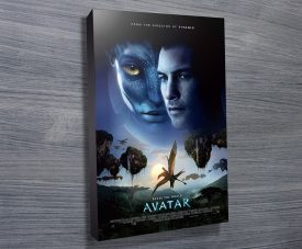 Avatar Movie poster print on canvas