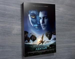 Avatar Movie poster print on canvas