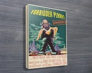 Forbidden Planet Movie Poster