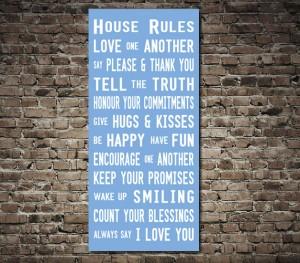 House Rules tramscroll