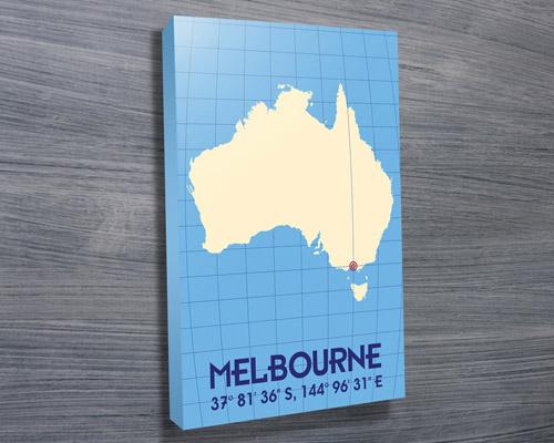 Melbourne Coordinates art