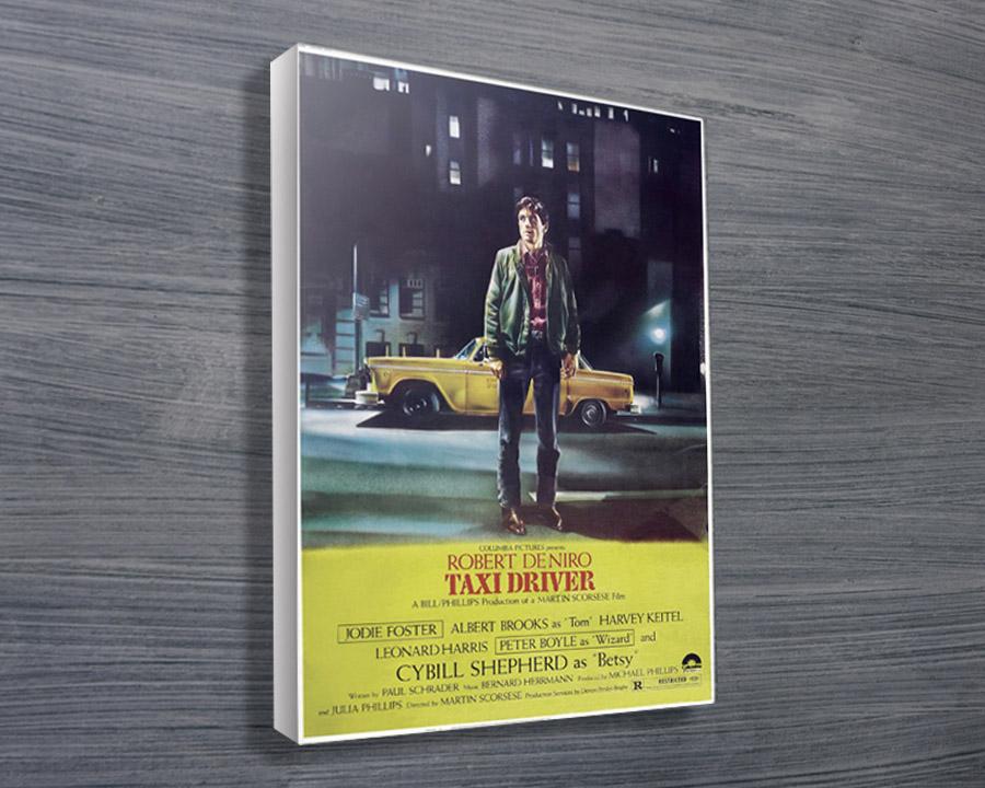 Taxi-Driver-movie-poster - Canvas Prints Australia