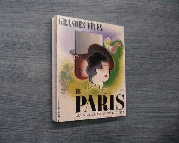 Paris Art Deco Poster