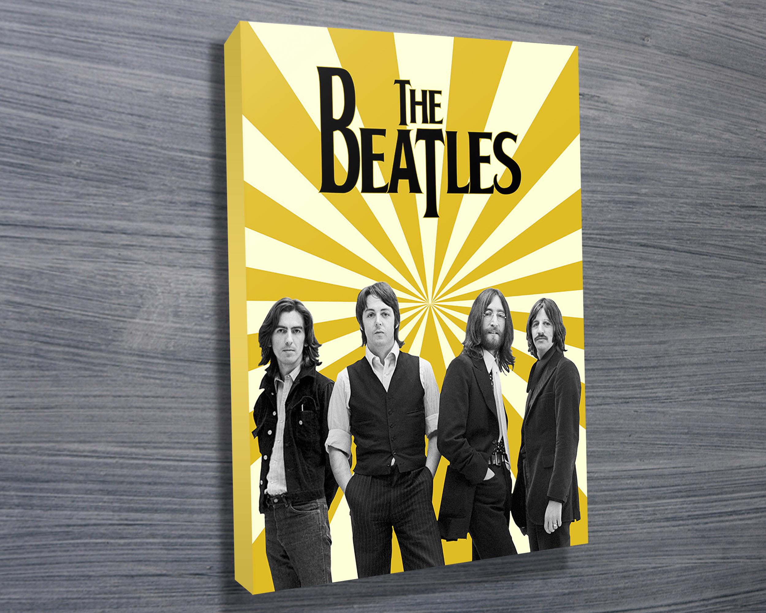 Beatles Canvas Wall Art - Elitflat
