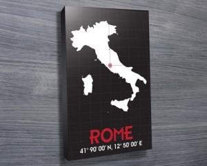 Rome Coordinates art