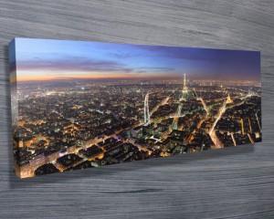 Paris by Night Panoramic
