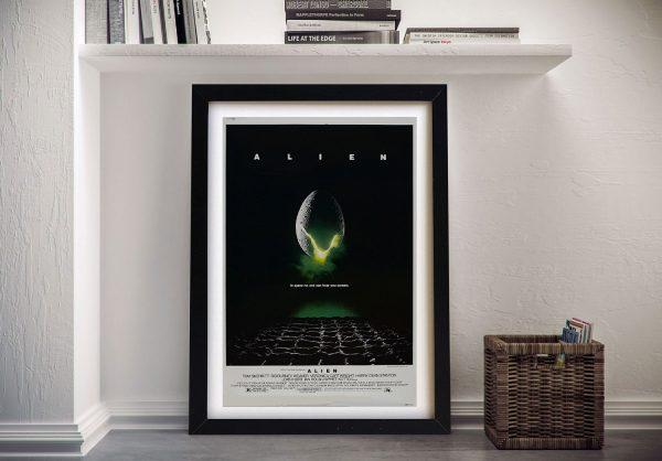 Alien Poster Framed Wall Art Sydney
