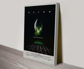 Alien Movie Poster Canvas print