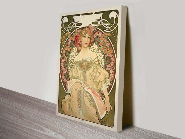 Alphonse Mucha Canvas Art Print