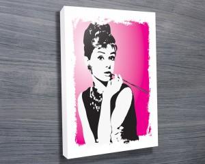 Audrey Hepburn Pink art