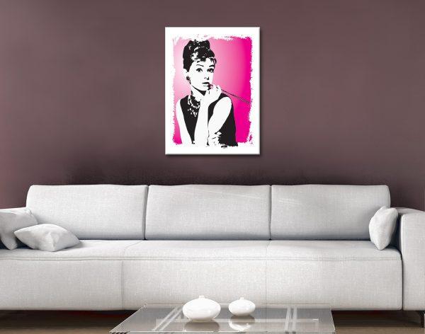 Audrey Hepburn Pop Art Home Decor Ideas Online