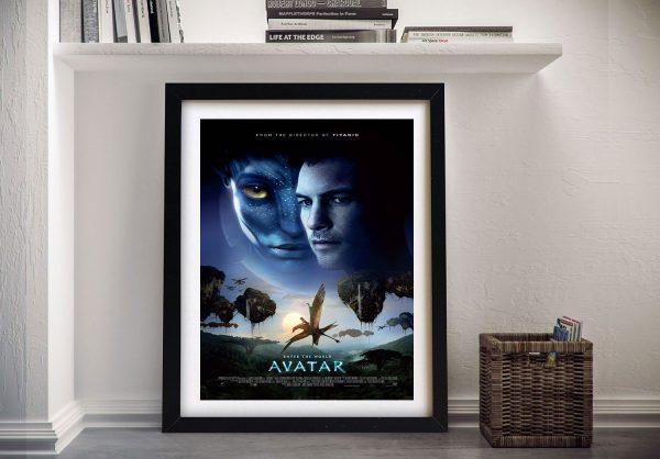 Buy a Framed Canvas Avatar Movie Poster Print