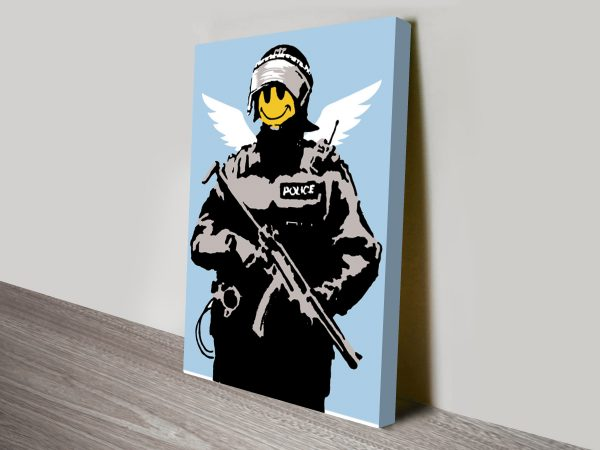 Banksy Acid Soldiers Canvas