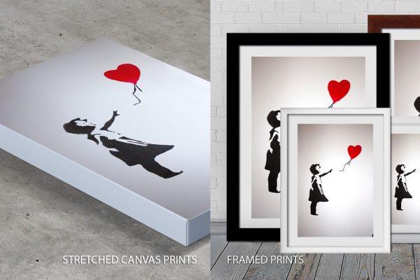 Banksy Balloon Girl quality print