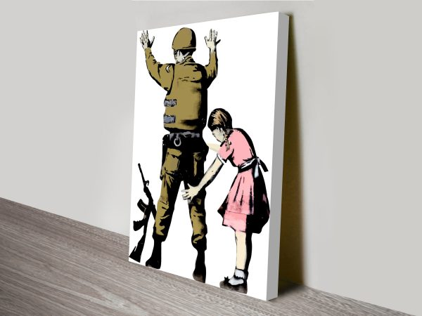 Banksy Pat Down Wall Art Print