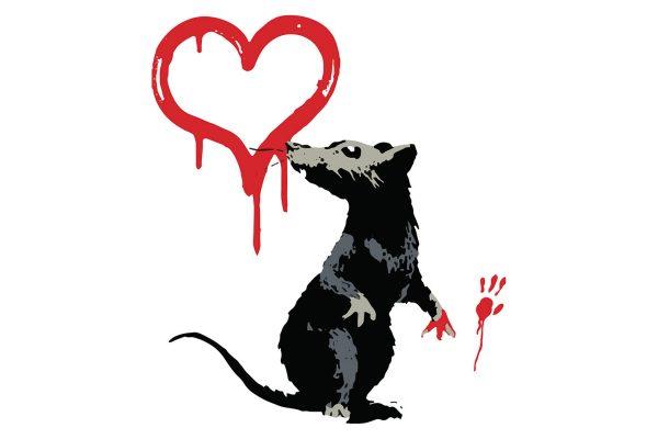 Banksy Rat Art Poster Australia