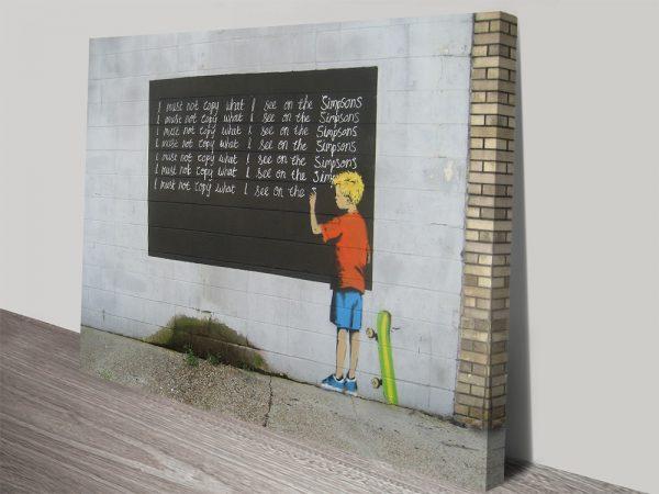 Buy Cheap Banksy Graffiti Art Prints Online