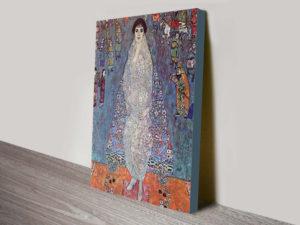 Baroness Elisabeth Bachofen by Gustav Klimt Print on Canvas Melbourne