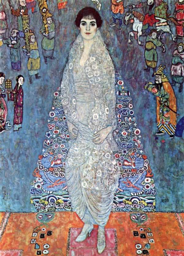 Baroness Elizabeth by Klimt Canvas Wall Art Au