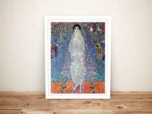 Baroness Elizabeth Klimt Framed Wall Art Australia