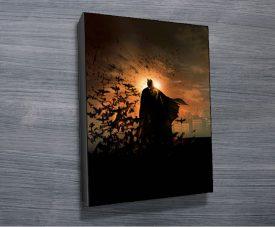 Batman Begins Pop Art